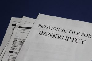 bankruptcy petition document