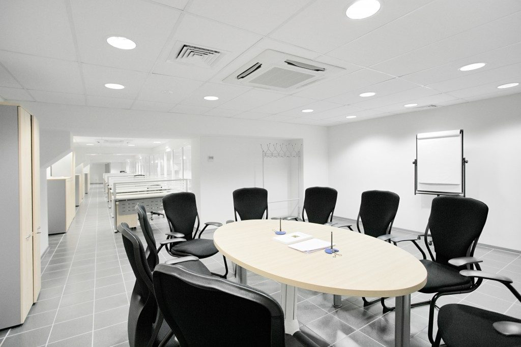 a meeting room