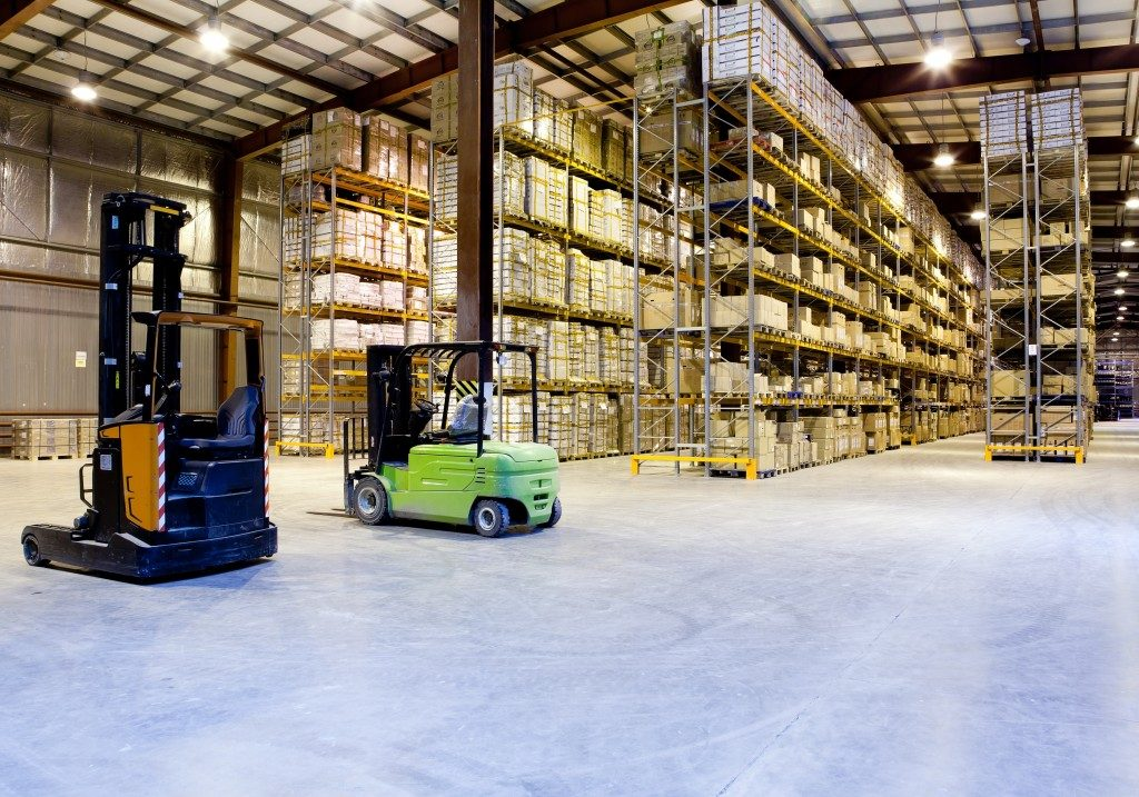 Warehouse of products