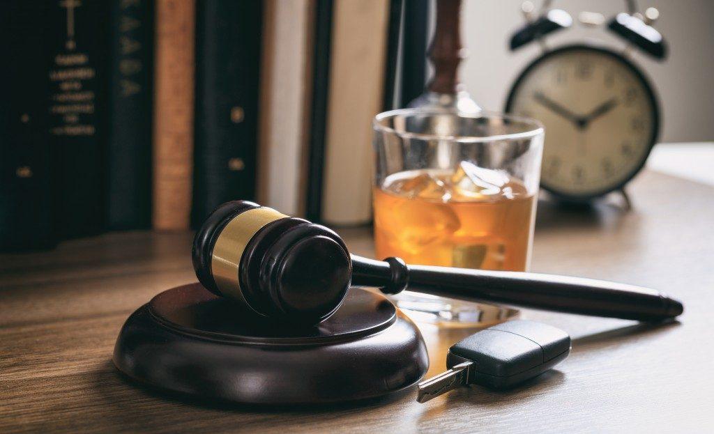 DUI legal concept
