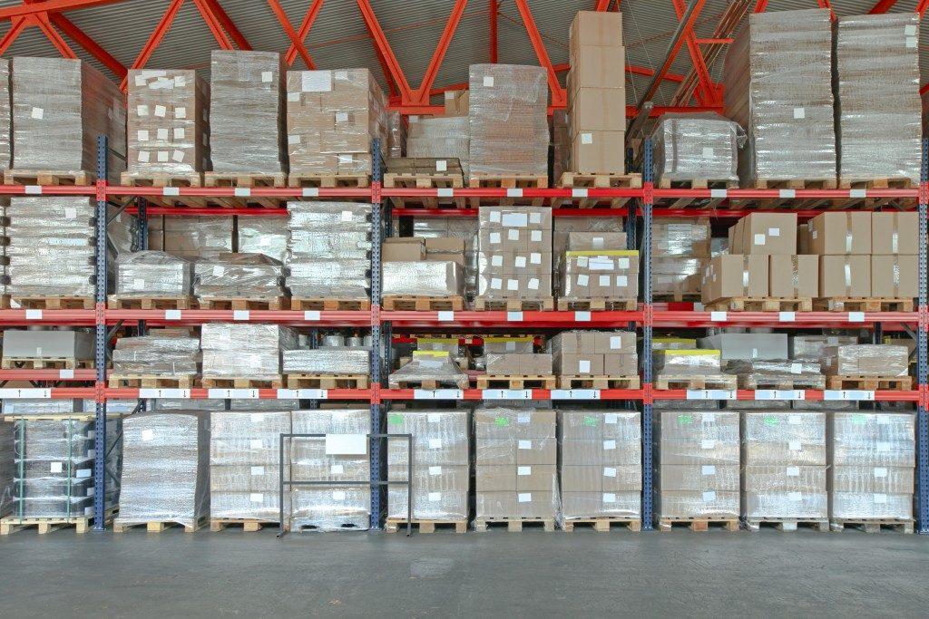 Shelving warehouse