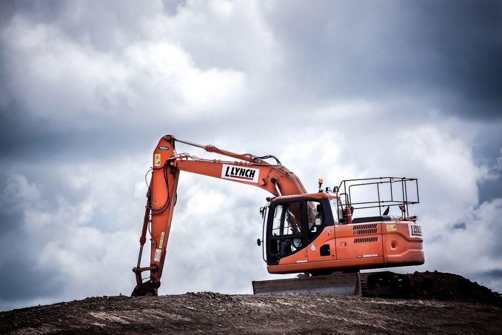 heavy construction machineries